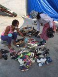 Export-Schuhe, verwendeter Schuh-Export zum Afrika-Markt