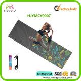 De AntislipOEM Microfiber Mat van uitstekende kwaliteit voor Yoga