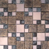 Мозаика кристаллический стекла блока цвета для строить Matrial (VMW3206)