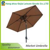 폴란드 강철 정원 옥외 차양 시장 우산 양산