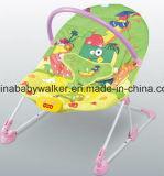 エムピー・スリー機能の2in1赤ん坊のベビーサークルの折畳み式ベッドのベッドの振動