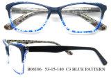 Optische Glazen van Eyewear van de Acetaat van het Frame van de Glazen van de Tendens van de manier de Met de hand gemaakte