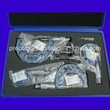 C-Type de micromètres extérieurs (0-25, 25-50, 50-75, 75-100, 100-125mm)