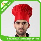 Cuisine 100% blanche adaptée aux besoins du client de sergé de coton faisant cuire le chapeau de chef