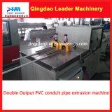 PVC PVC eléctrico Conducto Doule Doble Tubo que hace la máquina