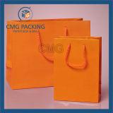 Saco de mão de papel luxuoso da venda quente da fábrica (DM-GPBB-210)