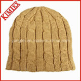 Gorra de ganchillo de Jacquard del invierno de la manera de la alta calidad