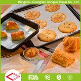 los 50X70cm cubrieron la fuente impermeable a la grasa de la panadería de los cuadrados del papel de la hornada del horno
