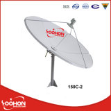 1.5m C Band Global Big Satellite Dish Antenna