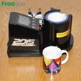 Máquinas neumáticas automáticas de la prensa del calor de la taza de la sublimación