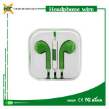 Mic, iPhone를 위한 Earphone에서 Ear Headphone Wholesale를 가진 이어폰 4 4s 5 5c 5s 6 6s All Models