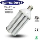 100W 1200lm FC0.95の高い発電LEDの屋外の道ランプ