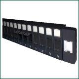 24 painéis de correção de programa em branco plásticos Shuttered porta