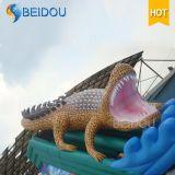 Trasparenza gonfiabile adulta del Bouncer del coccodrillo gigante su ordinazione poco costoso durevole da vendere
