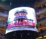 Pantalla de visualización al aire libre media de LED P10 del alto brillo 120W