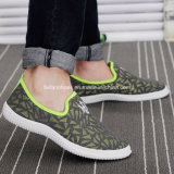 Resbalón de los últimos hombres populares en los zapatos ocasionales de los deportes de la inyección (HB160624-10)