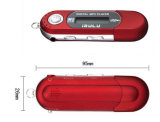Nova geração AAA Battery MP3 Player