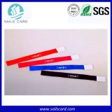 Bracelets colorés de Tyvek de papier de fête de Noël sur la vente en gros