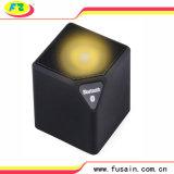 Diodo emissor de luz preto do ABS dos melhores altofalantes pequenos estereofónicos portáteis baratos de Bluetooth