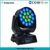CE19PCS 15W RGBW DMX LED Moving Head Light DJ Equipamento para Disco