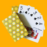 カスタムトランプのカジノはカジノのための印刷を梳く