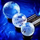 Decorazioni di vetro glassate della casa del globo della terra del globo di cristallo del mondo