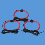 Bobine flexible de Rogowski avec la couleur 500A/50mv rouge