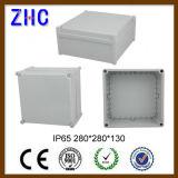 Grand cadre d'ABS de la boîte de jonction 280*280*130 IP65 pour la pièce jointe électrique en plastique neuve extérieure d'instrument