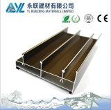 Anodização 6063 T5 perfil 6000 Series de alumínio para portas de alumínio