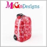 Banco Piggy do saco cerâmico bonito do dinheiro da forma para meninas