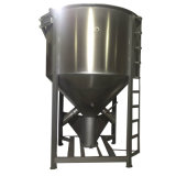 Traitement de mélange d'alimentation fait à la machine de l'acier inoxydable avec le chauffage