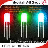 Vente chaude dans diode ronde des jambes LED en vrac 4.6mm la longue
