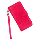 iPhone를 위한 Billfold Style Car Holder Leather PU Cases