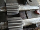AISI4340 Schmiedeeisen-feste Arbeits-Zahntrieb-Welle