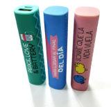 De volledige Kleur Aangepaste Bank 2600mAh van de Macht van de Cilinder van het Embleem