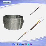 Fiberglas Insulated und Sheathed T Type Thermocouple Wire
