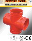 Protection contre les incendies Grooved de garnitures en travers d'ASTM A536 C