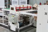 Única linha de produção máquina plástica da placa da camada da extrusão para a bagagem