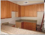 Noce Solid Wood Kitchen Cabinets con Kitchen Sinks e Countertops