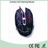 Diseño ergonómico 6 botones del ratón óptico del juego