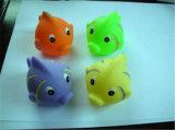 Bath en caoutchouc serrant le jouet en plastique d'enfant de canard animal de jouet
