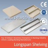Cremalheira 200-800 quilograma Udl do Shelving do armazenamento do armazém de Longspan do metal/em nível