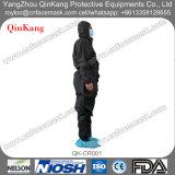 Nichtgewebter Overall pp.-Spunbonded mit elastischen Stulpe und dem Knöchel