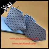 Cravate tissée par soie fabriquée à la main de 100%