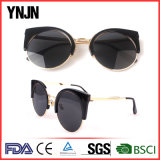 Солнечные очки глаза кота повелительниц конструкции Ynjn новые