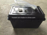 2 PCS IP67 Waterproof a caixa de bateria enterrada para a iluminação solar