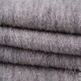 Tessuto di /Polyester delle lane con buona elasticità nel Gray