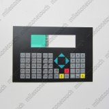 Interruttore della tastiera della membrana per 6AV9020-1dB00 PBT 20/6AV9020-1DC00 PBT 20/rimontaggio della tastiera membrana di 6AV3515-1mA10 Op397/6AV3515-1mA11 Op397 usato per la riparazione