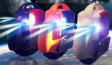 """""""trotinette"""" elétrico do balanço do auto com uma luz da roda F/R"""