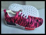 L'injection de mode chausse l'espadrille de chaussures de confort de chaussures de course de chaussures de sport (ST7410-3)